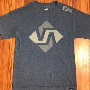 Men's Vans blue short sleeve T shirt